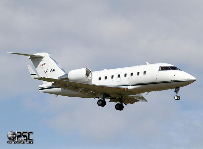 OE-IAA CL-604 5618 Europ Star Aircraft GmbH