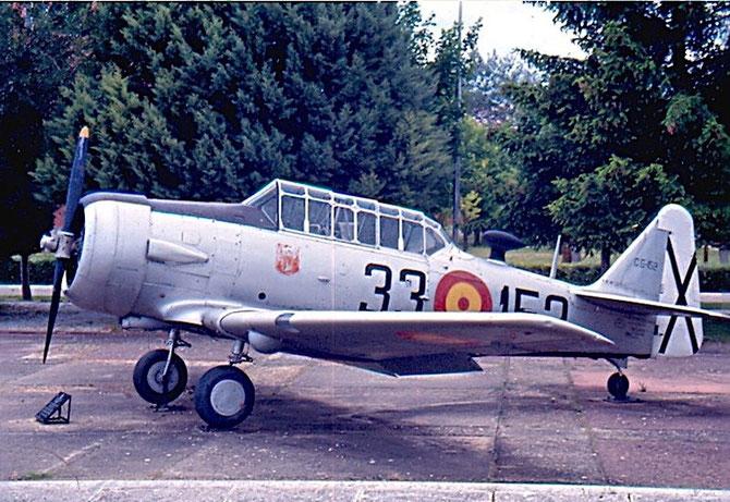 C.6-152 33-152 SNJ-5 121-41843 Villanubla