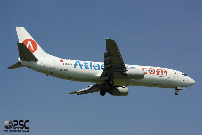 CN-RMF B737-4B6 24807/1880 Atlas Blue