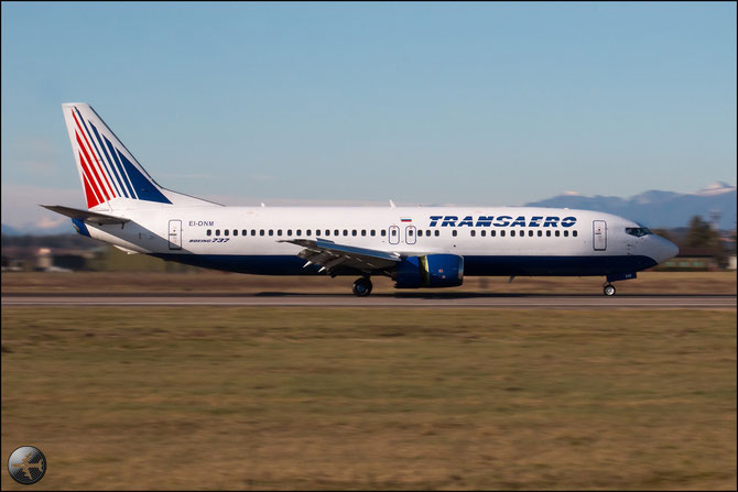 EI-DNM B737-4S3 24166/1722 Transaero Airlines @ Aeroporto di Verona © Piti Spotter Club Verona