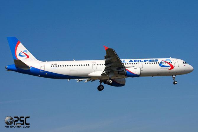Airbus A321 - MSN 1720 - VQ-BCX  @ Aeroporto di Verona © Piti Spotter Club Verona