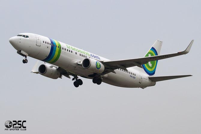 Boeing 737 Next Gen - MSN 32943 - PH-HZN @ Aeroporto di Verona © Piti Spotter Club Verona