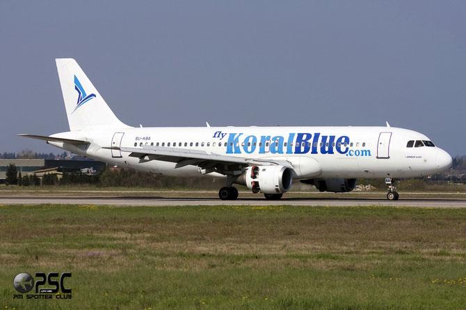 SU-KBA A320-212 937 Koral Blue