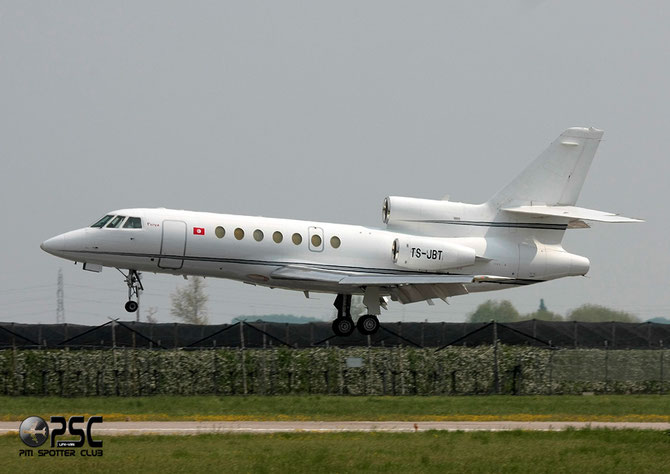 TS-JBT Falcon 50 119 Karthago Private Jets