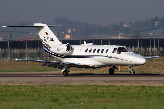 D-ITMA Ce525A (CJ2+) 525A-0389 Starwings GmbH @ Aeroporto di Verona © Piti Spotter Club Verona