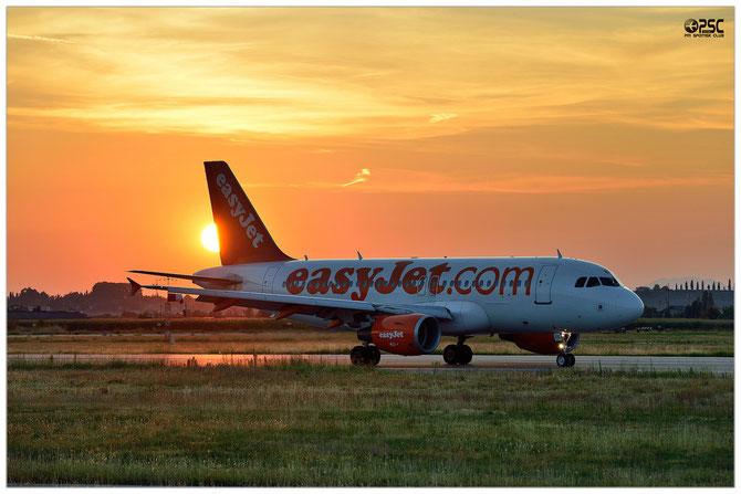 Airbus A319 - MSN 2120 - G-EZEB @ Aeroporto di Verona © Piti Spotter Club Verona