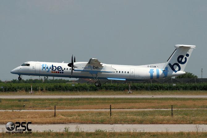 Dash 8 - MSN 4233 - G-ECOM @ Aeroporto di Verona © Piti Spotter Club Verona