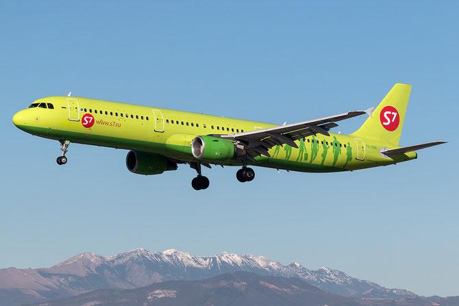 VQ-BQK A321-211 2064 S7 Airlines  @ Aeroporto di Verona © Piti Spotter Club Verona