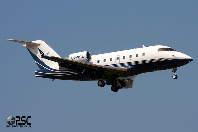 LX-MDA CL-604 5616 Luxaviation