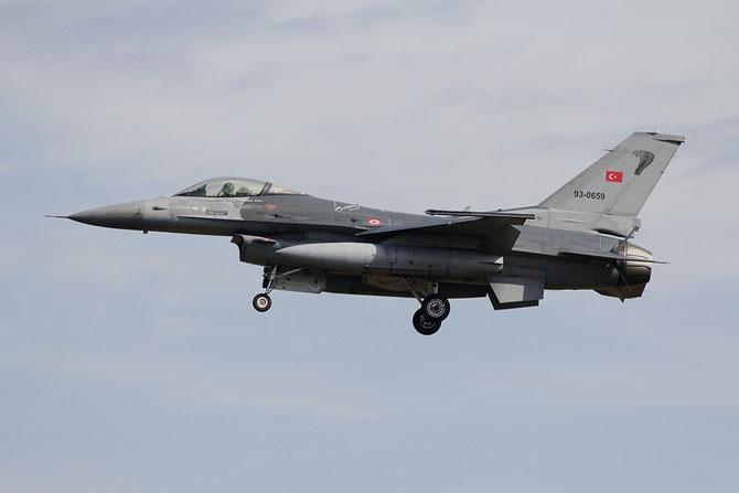 Turkey - 93-0659  F-16C-50-CF HC-3 191 Filo © Adriano Dalla Mura - Piti Spotter Club Verona