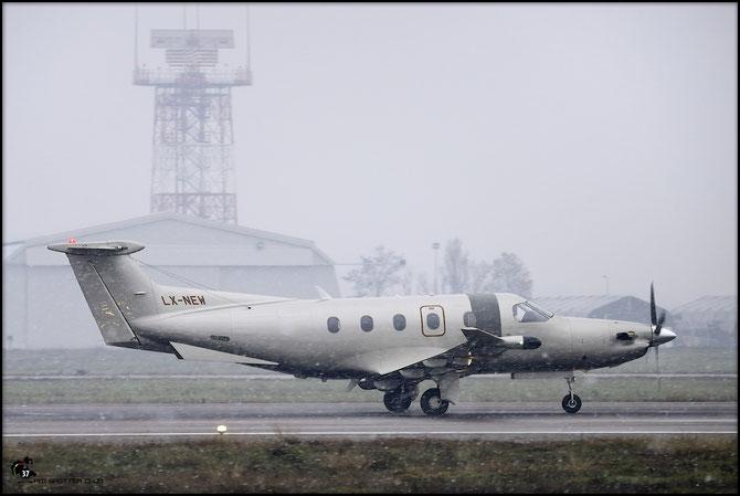 LX-NEW PC-12/47E 1148 @ Aeroporto di Verona - 2016 © Piti Spotter Club Verona