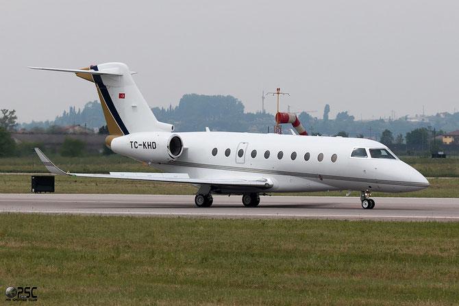 TC-KHD G280 2037 Kortez havaclik Turism ve Tirazet AS @ Aeroporto di Verona © Piti Spotter Club Verona