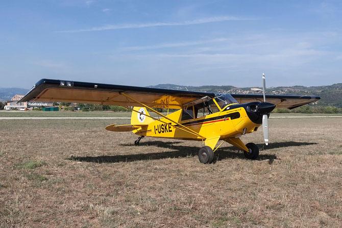 I-USKE - Aviat A-1B Husky @ Aeroporto Verona Boscomantico © Piti Spotter Club Verona