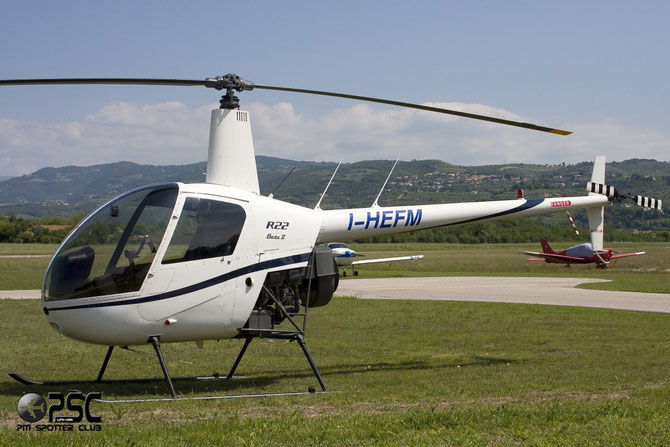 I-HEFM  Robinson R22B Beta II ( c/n 4251 ) - mfg: 2007