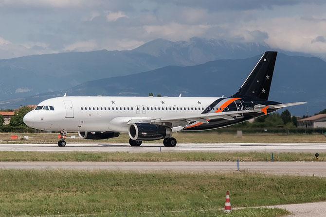 G-POWK A320-233 4701 Titan Airways @ Aeroporto di Verona © Piti Spotter Club Verona