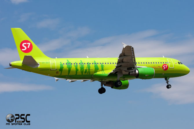 VP-BDT A320-214 3494 S7 Airlines