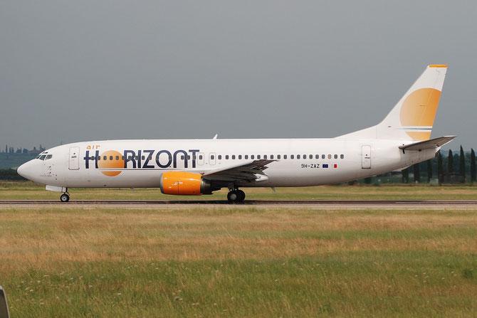 9H-ZAZ B737-436 25349/2156 Air Horizont @ Aeroporto di Verona © Piti Spotter Club Verona
