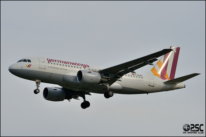 D-AKNQ A319-112 1170 Germanwings