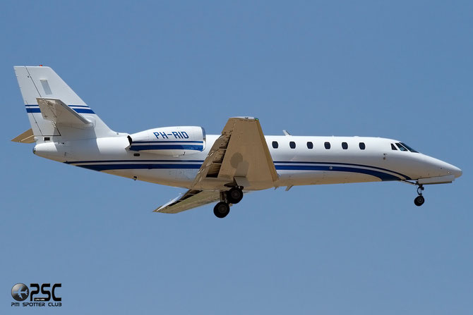 Private Cessna 680 Citation Sovereign - PH-RID @ Aeroporto di Verona © Piti Spotter Club Verona