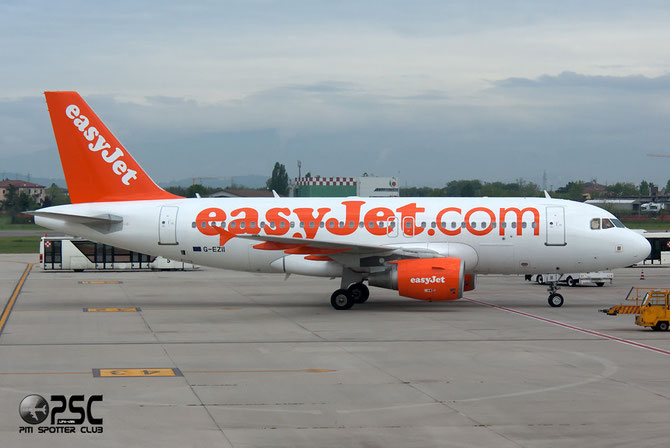 Airbus A319 - MSN 2471 - G-EZII @ Aeroporto di Verona © Piti Spotter Club Verona