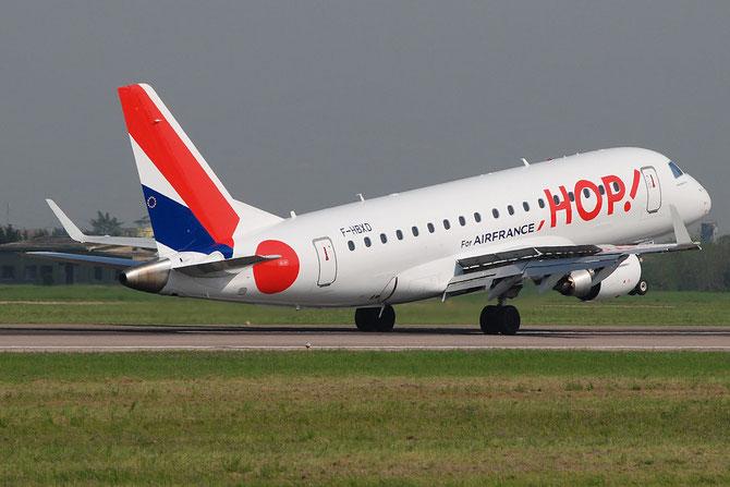 Embraer 170 - MSN 281 - F-HBXD (Hop! livery) @ Aeroporto di Verona © Piti Spotter Club Verona