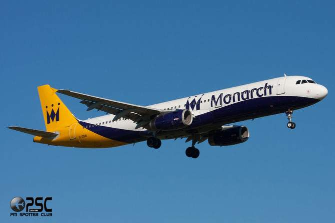 G-ZBAI A321-231 2553 Monarch Airlines