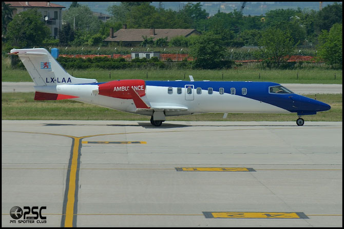 LX-LAA Learjet 45 45-308 Ducair SA / Luxembourg Air Rescue