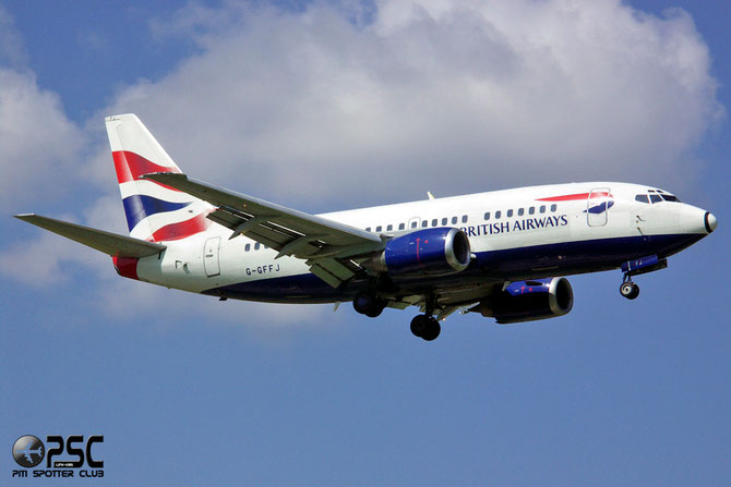 Boeing 737 - MSN 27355 - G-GFFJ @ Aeroporto di Verona © Piti Spotter Club Verona