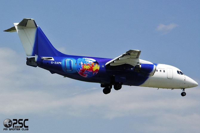 G-ZAPK BAe146-200QC E2148 Titan Airways @ Aeroporto di Verona © Piti Spotter Club Verona