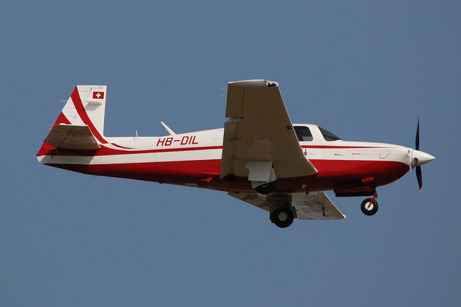 HB-DIL -  Mooney M20R Ovation @ Aeroporto di Verona © Piti Spotter Club Verona