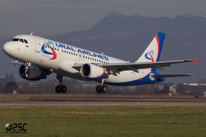 VP-BKB A320-214 3189 Ural Airlines @ Aeroporto di Verona © Piti Spotter Club Verona