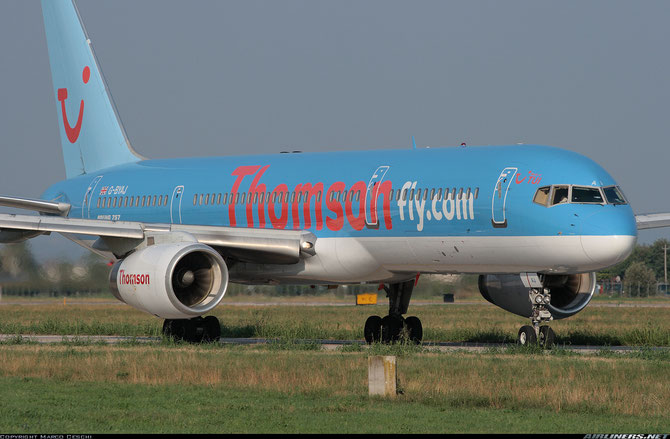 Boeing 757 - MSN 25623 - G-BYAJ @ Aeroporto di Verona © Piti Spotter Club Verona