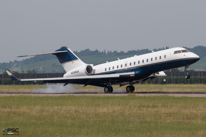 N700GX Global Express 9014 Wells Fargo Bank @ Aeroporto di Verona © Piti Spotter Club Verona