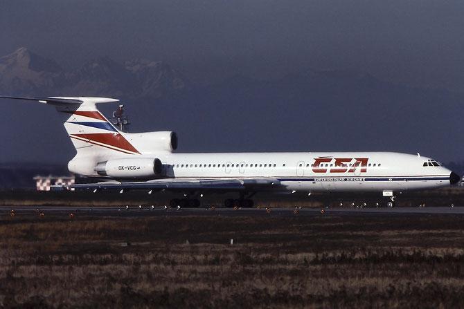 90A838 Tu-154M OK-VCG CSA