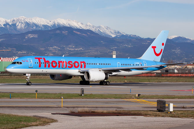 Boeing 757 - MSN 27146 - G-OOBI  @ Aeroporto di Verona © Piti Spotter Club Verona