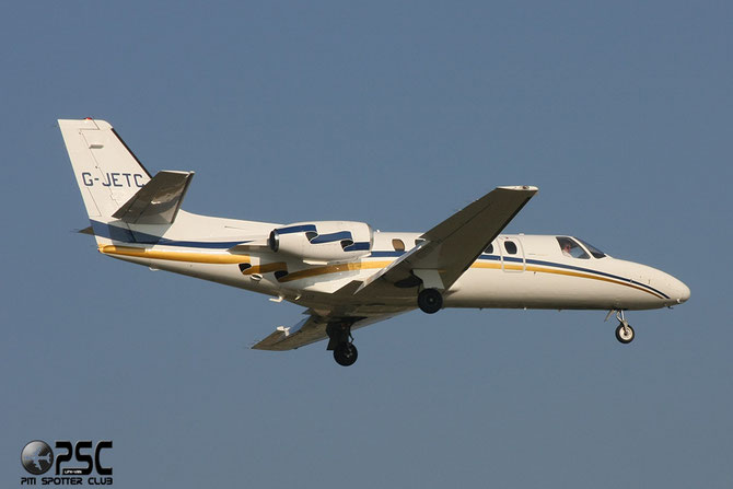 G-JETC Ce550 550-0282/315 Interceptor Aviation Ltd.