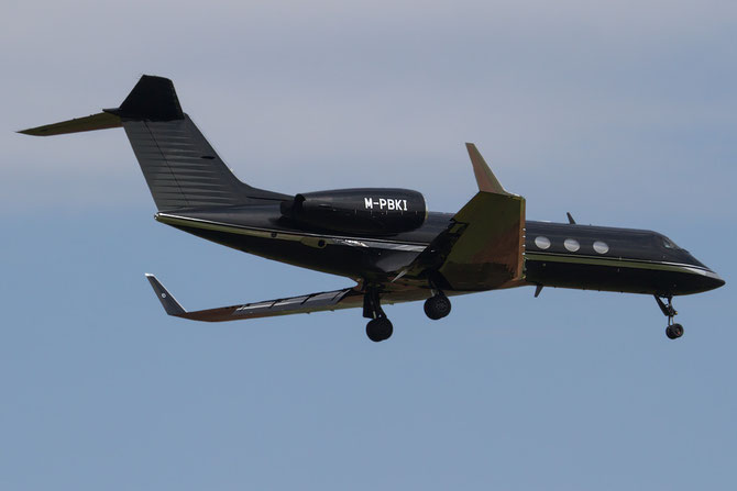 M-PBKI G-IVSP 1255 GIV-SP Air Service Ltd. @ Aeroporto di Verona © Piti Spotter Club Verona