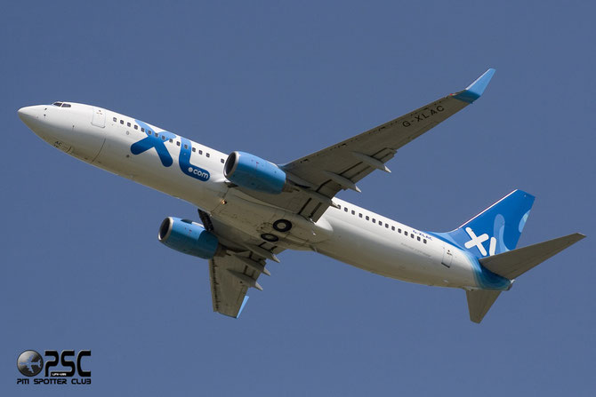 G-XLAC B737-81Q 29051/479 Excel Airways @ Aeroporto di Verona © Piti Spotter Club Verona