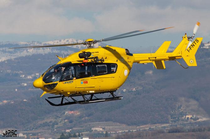I-FNTS Eurocopter-Kawasaki EC-145 (BK-117C-2) @ Aeroporto Verona Boscomantico © Piti Spotter Club Verona