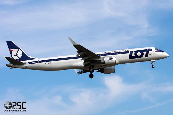 SP-LNB ERJ195LR 19000444 LOT Polish Airlines - Polskie Linie Lotnicze