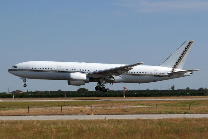 VP-BRH B777-2ANER 29953/252 Saudi Oger - Aviation Deparment
