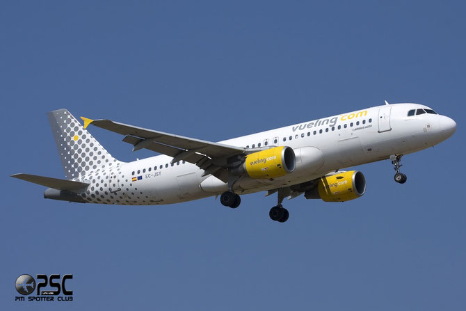 Airbus A320 - MSN 2785 - EC-JSY @ Aeroporto di Verona © Piti Spotter Club Verona