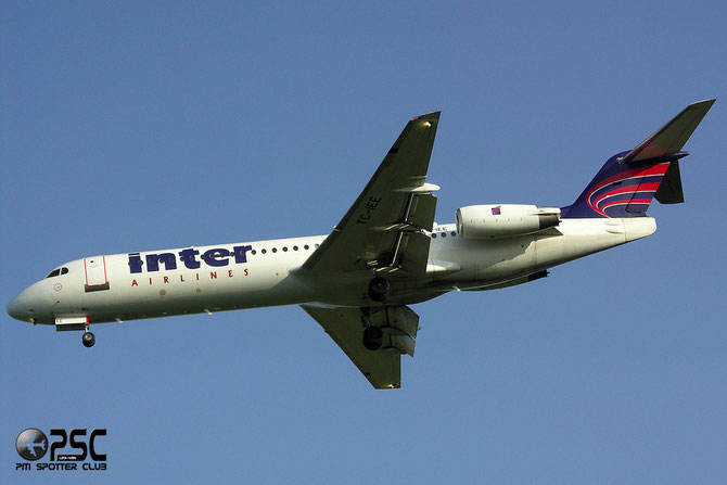TC-IEE Fokker 100 11326 Inter Airlines