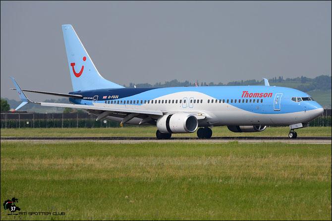 G-FDZG B737-8K5 35139/2538 Thomson Airways @ Aeroporto di Verona © Piti Spotter Club Verona