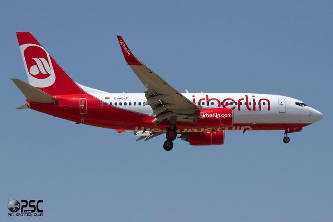 D-ABLF B737-76J 36874/3488 Air Berlin