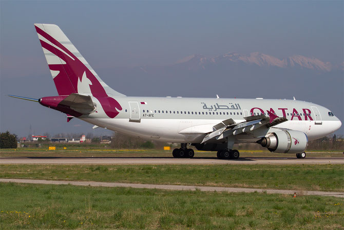 A7-AFE A310-308 667 Government of Qatar - Qatar Airways Amiri Flight @ Aeroporto di Verona © Piti Spotter Club Verona