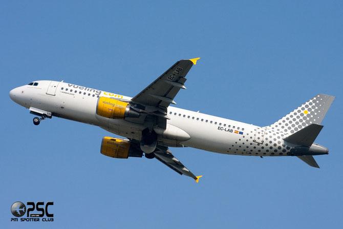 Airbus A320 - MSN 2761 - EC-LAB  @ Aeroporto di Verona © Piti Spotter Club Verona