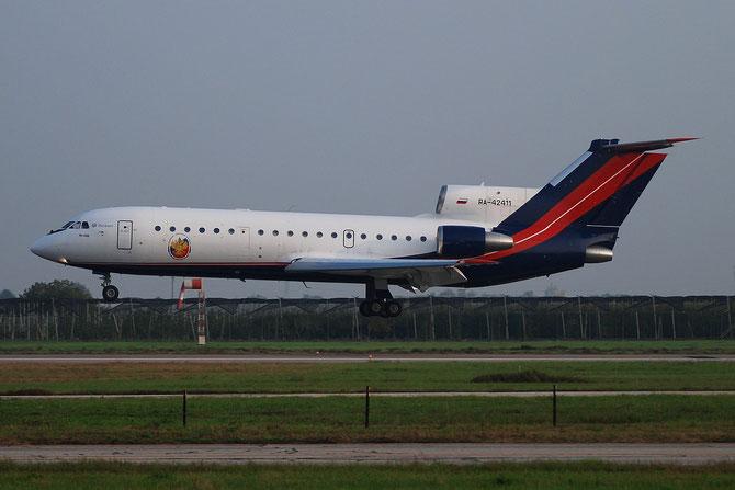 RA-42411 - 4520421219043 Yak-42D RusJet @ Aeroporto di Verona © Piti Spotter Club Verona