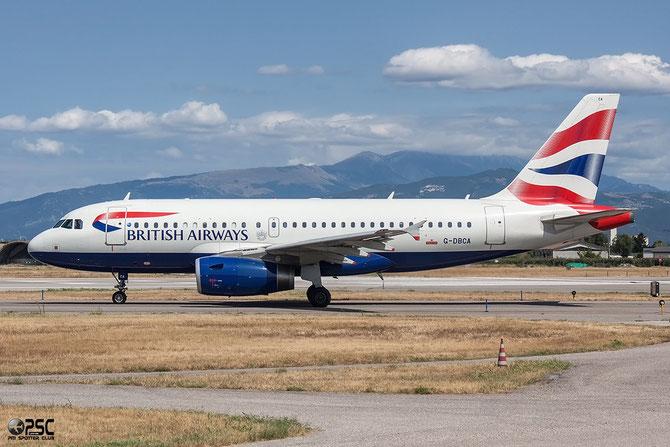 G-DBCA A319-131 2098 British Airways @ Aeroporto di Verona © Piti Spotter Club Verona