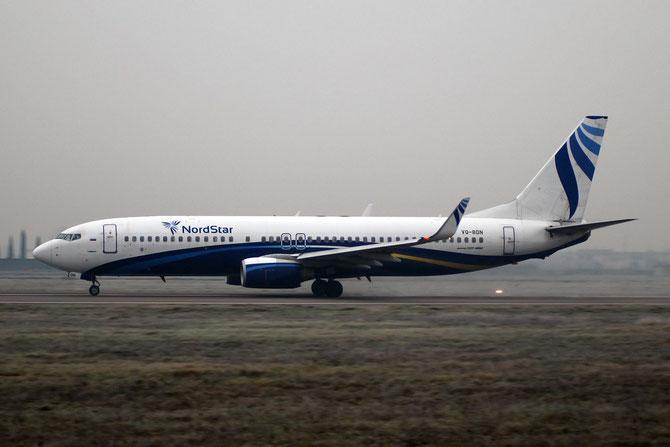 VQ-BDN B737-8K5 32905/1046 NordStar Airlines @ Aeroporto di Verona © Piti Spotter Club Verona